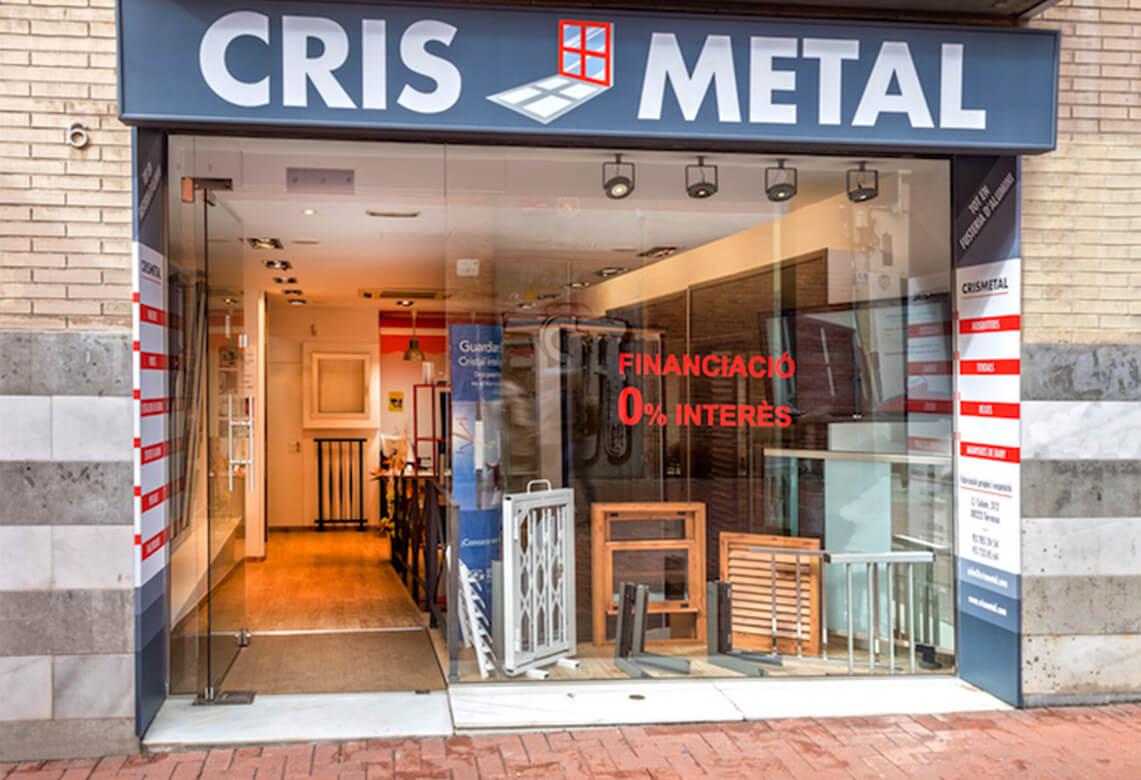 Cris Metal - Taller fusteria i alumini a Terrassa